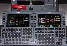 De Navigatie van vliegtuigen Stock Foto