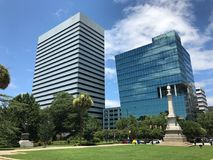 De NBSC banco agora Synovus situado em Colômbia, SC fotos de stock