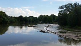 De Neckar stock fotografie