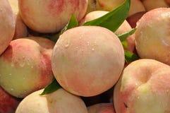 De nectarine van perziken Royalty-vrije Stock Afbeeldingen