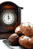 De Nederlandse doughnut oliebollen Royalty-vrije Stock Afbeeldingen