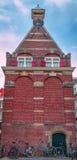 De Nederlandse historische bouw stock afbeelding