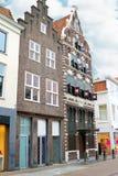 In de Nederlandse stad van Gorinchem. Royalty-vrije Stock Foto's
