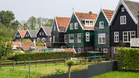 De Nederlandse vissers huisvesten Royalty-vrije Stock Fotografie