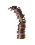 De neerstorting of de economie royalty-vrije stock fotografie