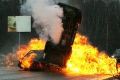 De neerstorting van de auto royalty-vrije stock foto's