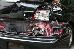 De Neerstorting van de auto Stock Foto's
