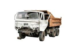De neerstorting van de vrachtwagen stock foto's
