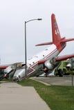 De Neerstorting van het vliegtuig stock fotografie