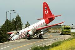 De Neerstorting van het vliegtuig Royalty-vrije Stock Foto's