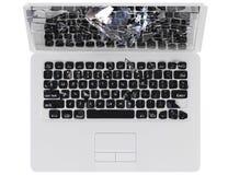 De neerstortingsconcept van de computer - trojan houwer, virus, Stock Afbeelding