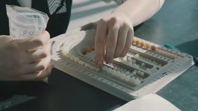 De nefriet van het jadenefritis stock videobeelden