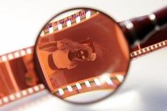 De negatieve film van de Kleur van het huis Stock Afbeeldingen