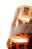 De negatieve frames van de film royalty-vrije stock fotografie