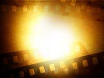 De negatieven van de film Stock Afbeeldingen