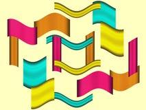 De neiging van Benedict van vormen vector illustratie