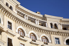 De neo Klassieke bouw Royalty-vrije Stock Afbeeldingen