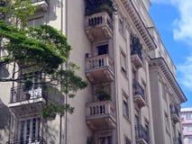 De neoklassieke bouw Stock Afbeelding