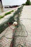 De netten van de visserij Royalty-vrije Stock Afbeelding