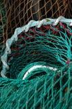 De Netten van de visserij Stock Afbeelding