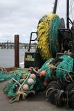 De Netten van de visserij Stock Fotografie