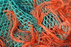 De Netten van de visserij Royalty-vrije Stock Afbeeldingen