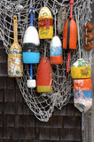 De netten van vissen Stock Afbeeldingen