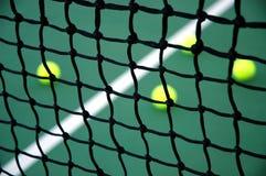 De Netto Close-up van het tennis Stock Afbeeldingen