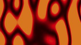 De neuronen die van de neuronenanimatie een neuraal netwerk vormen stock illustratie