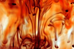 De nevel van de brand Royalty-vrije Stock Afbeeldingen