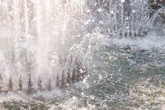 De nevel van de fontein Royalty-vrije Stock Foto's