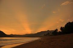 De Nevel van de zonsondergang Royalty-vrije Stock Fotografie