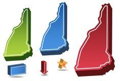 De New Hampshire Imagenes de archivo