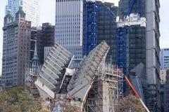9/11 de New York City memorável Imagens de Stock