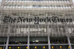 De New York Times Stock Afbeeldingen