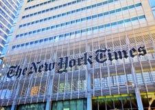 De New York Times Stock Fotografie