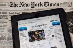 De New York Times Stock Afbeeldingen