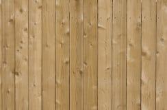 De nieuwe achtergrond van de ceder houten omheining Stock Afbeelding