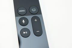 De nieuwe Apple-media die van TV speler stromen microconsole Royalty-vrije Stock Fotografie