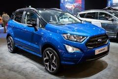 De nieuwe auto van Ford EcoSport Compact SUV van 2018 Royalty-vrije Stock Foto's