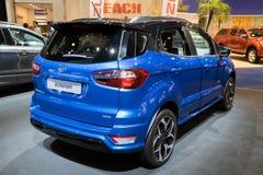 De nieuwe auto van Ford EcoSport Compact SUV van 2018 Stock Afbeelding