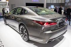 De nieuwe auto van Lexus LS 500 van 2018 Royalty-vrije Stock Afbeeldingen