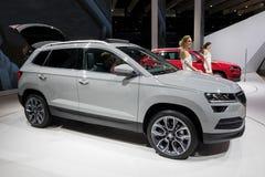De nieuwe auto van Skoda Karoq SUV van 2018 Royalty-vrije Stock Afbeelding