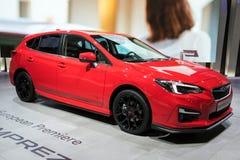 De nieuwe auto van Subaru Impreza van 2018 Royalty-vrije Stock Afbeelding