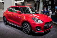 De nieuwe auto van Suzuki Swift Sport van 2018 Royalty-vrije Stock Afbeeldingen