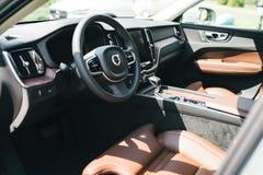 De nieuwe auto van Volvo van 2018 XC60 Royalty-vrije Stock Foto