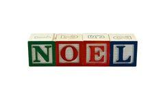 De nieuwe blokken van Noel Stock Foto's
