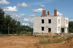 De nieuwe bouw Royalty-vrije Stock Fotografie