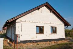 De nieuwe bouw Stock Foto's