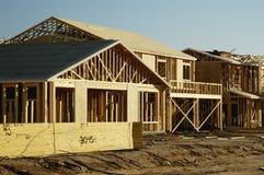 De nieuwe Bouw van het Huis Stock Afbeelding